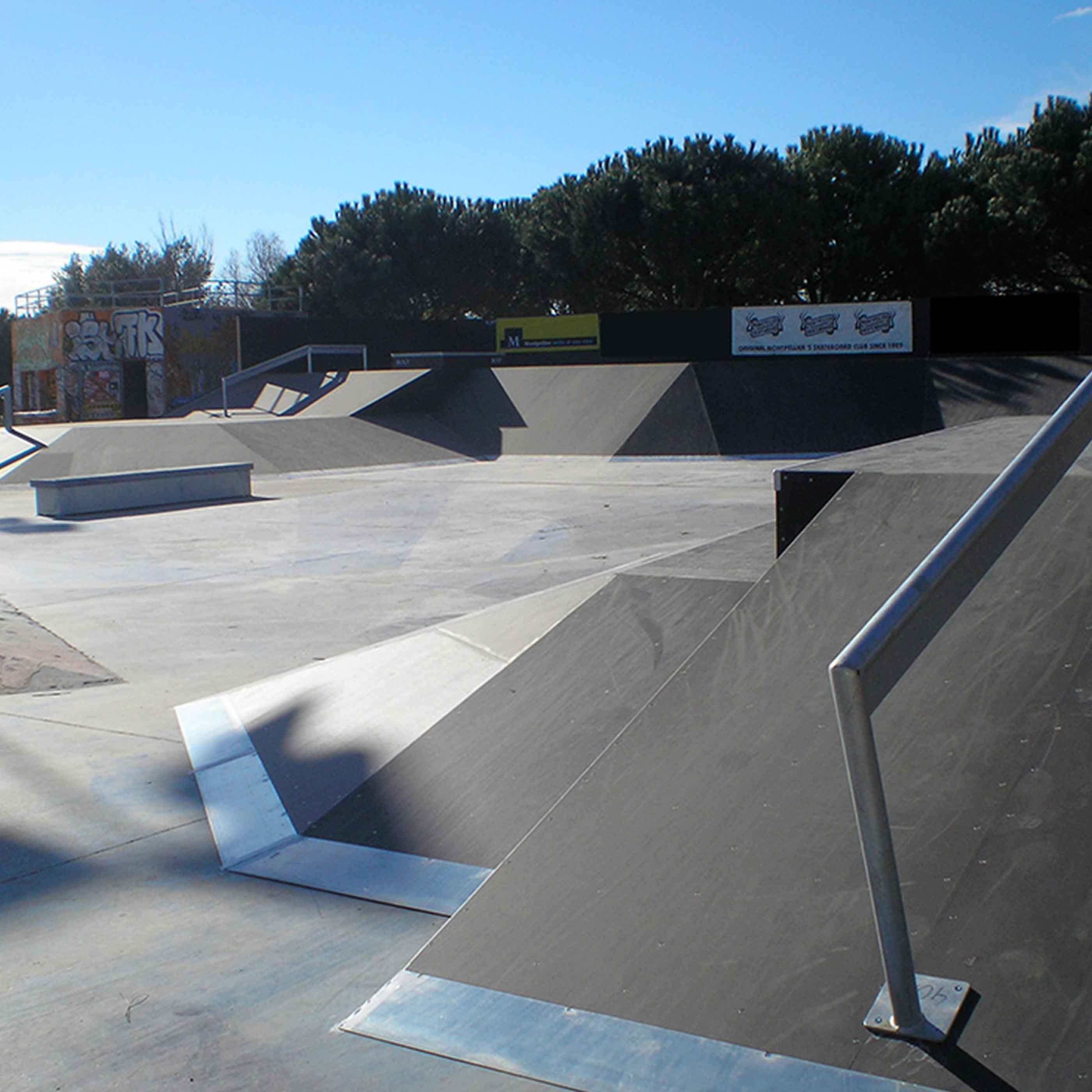 modules skatepark Grammont