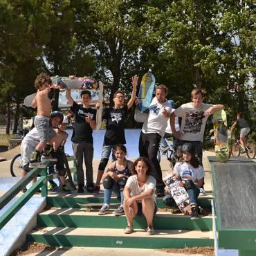 Sortie sur le skatepark de Sète – Dimanche 25 mars