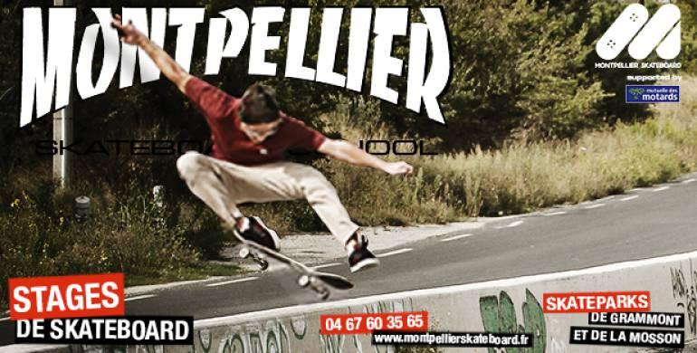 Stages Skateboard vacances de février – Inscriptions ouvertes !
